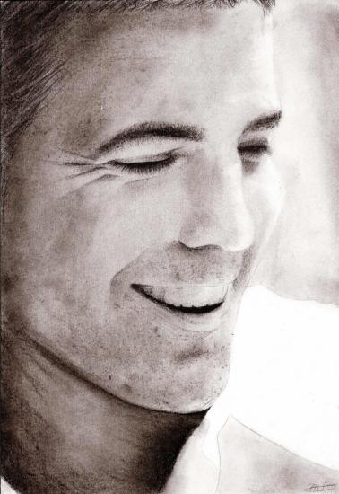 George Clooney par sun-smiley